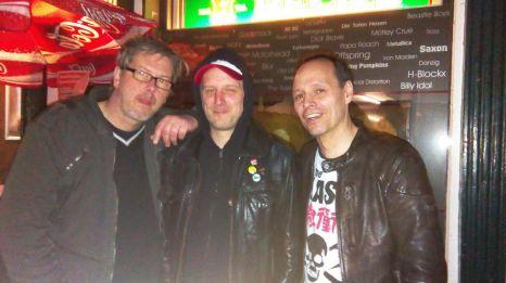 Ex RISIKOFAKTOR- 2017- hier mit (von links nach rechts) Jason, Thorsten und Gaffa